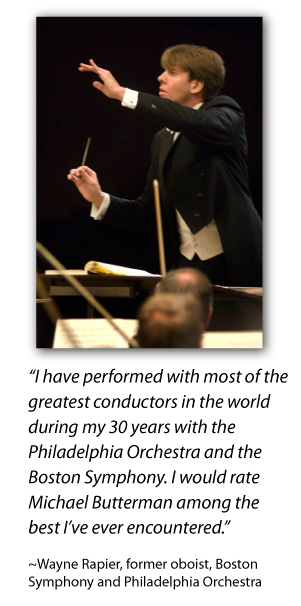 Michael Butterman, conductor